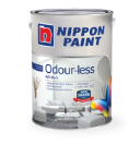 Interior paint odourless all-in-1