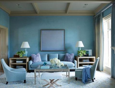 Aegean Blue Paint Colour